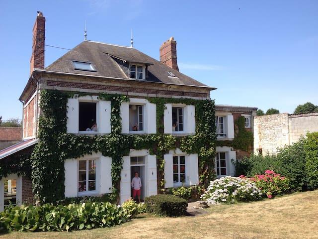 maison à la campagne - La Neuville-Roy - Huis