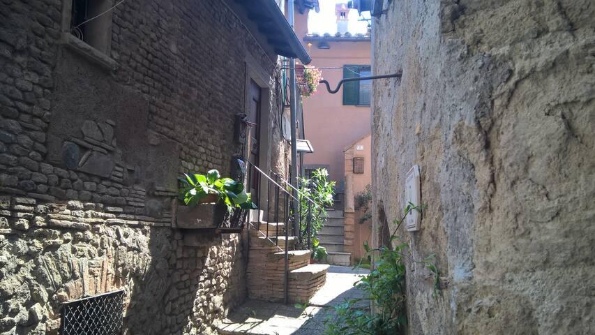 La Casa di Valérie - Sacrofano - Huis