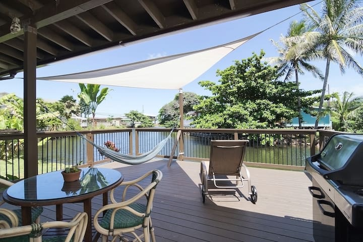 Waterfront Retreat by the Sea - Hauula - Guesthouse