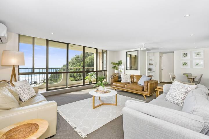 KIRRA COOLANGATTA OCEAN VIEW BEACH APARTMENT - Coolangatta - Apartament