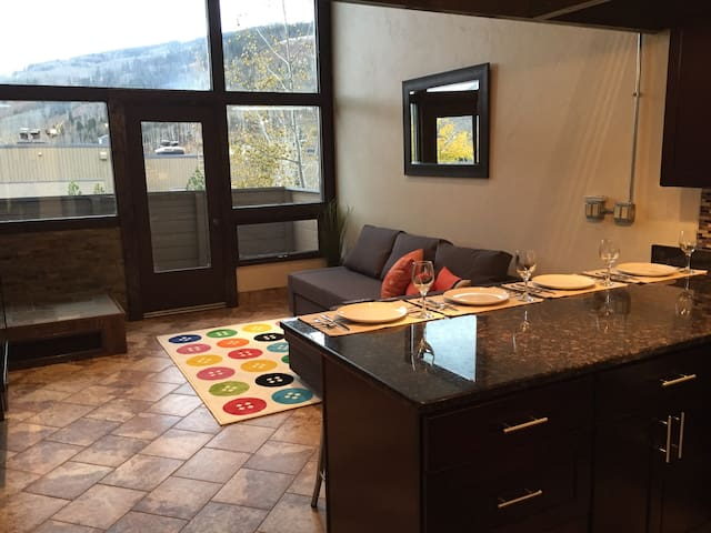 Slope-View Modern Loft: Easy Access to Vail Villge - Vail