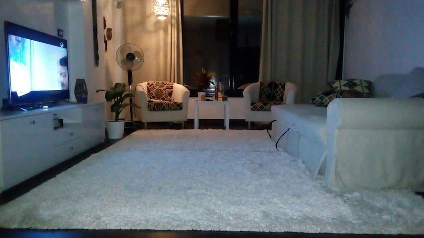 fully furnished modern apt - El Obour City - Leilighet