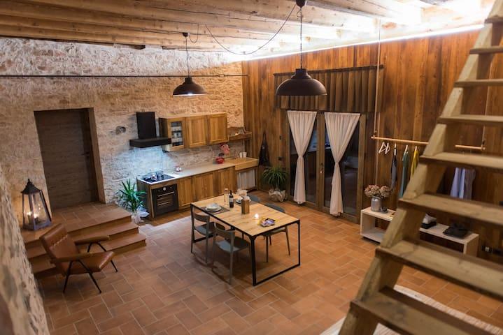 The house in the hayloft - Rovereto - Departamento