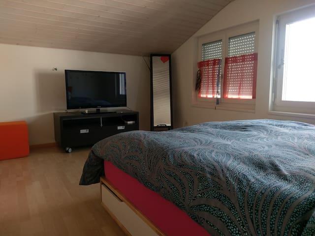 Ruhiges Zimmer in der Nähe von Zürich - Wangen - Hus
