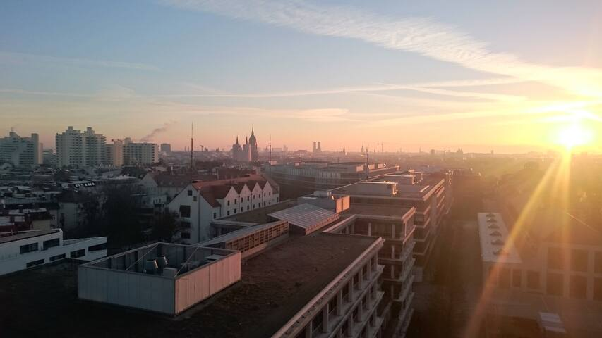 Over the roofs of Munich - Мюнхен - Квартира