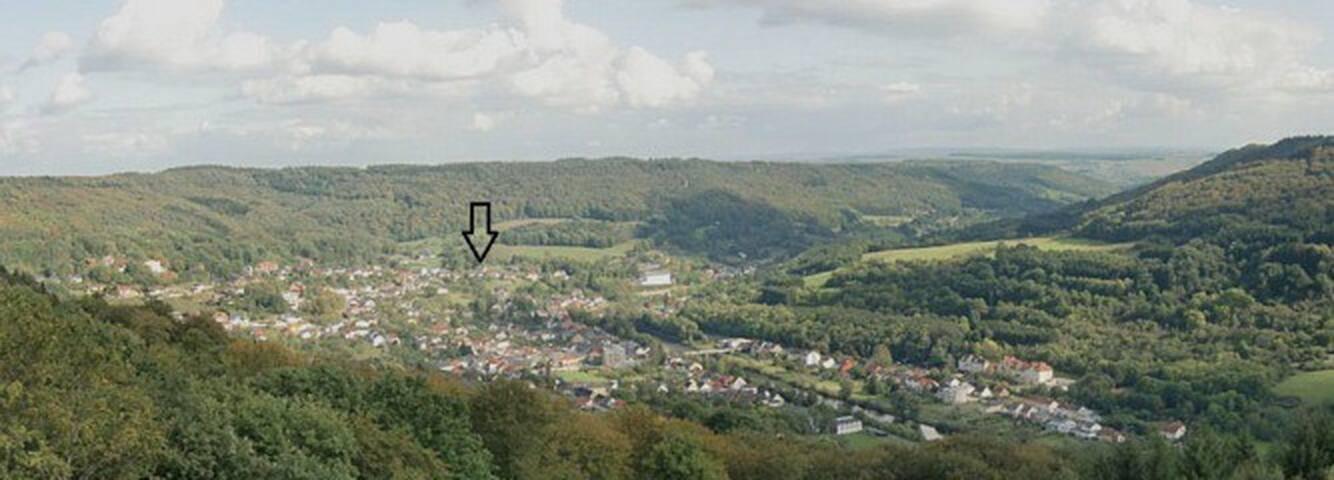 Große Ferienwohnung mit phantastischer Aussicht - Bollendorf