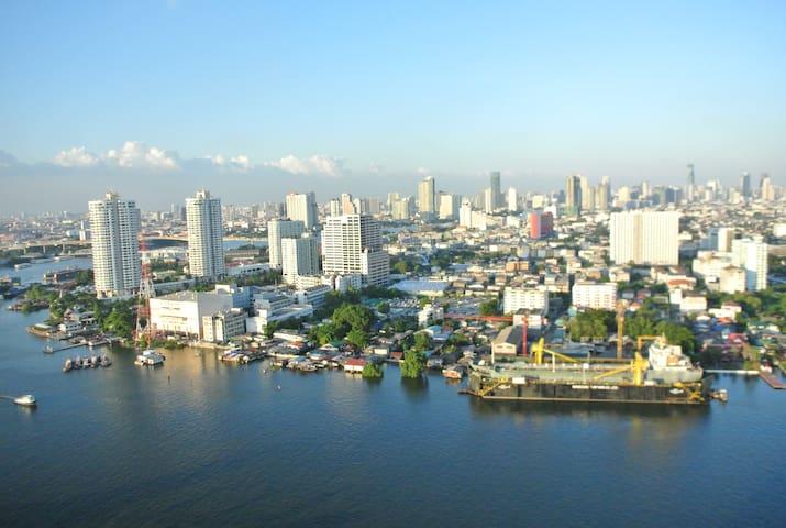 River view condominium - Bangkok - Condomínio