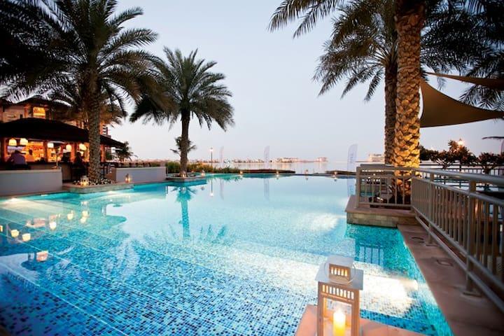 Beautiful 2 bed penthouse apartment with sea views - Dubai - Departamento