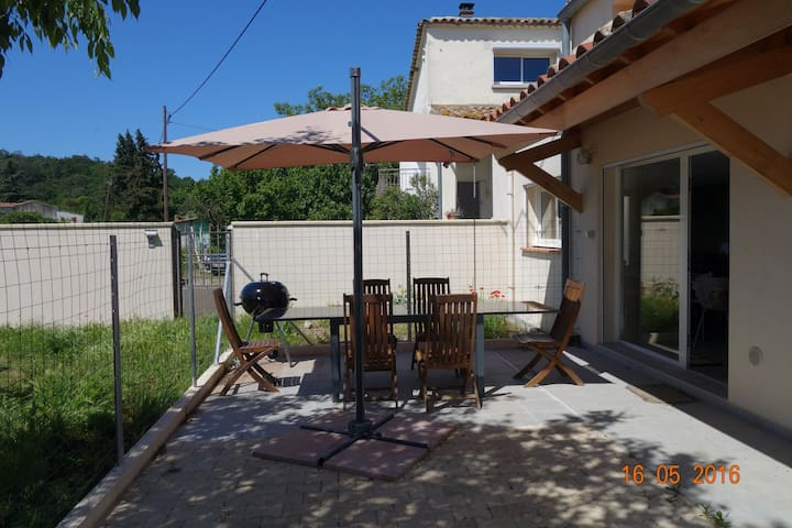 la quiétude champêtre en ville - Alès - Rumah