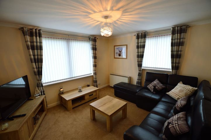 Apartment close to  beaches and amenities - Findhorn - Daire