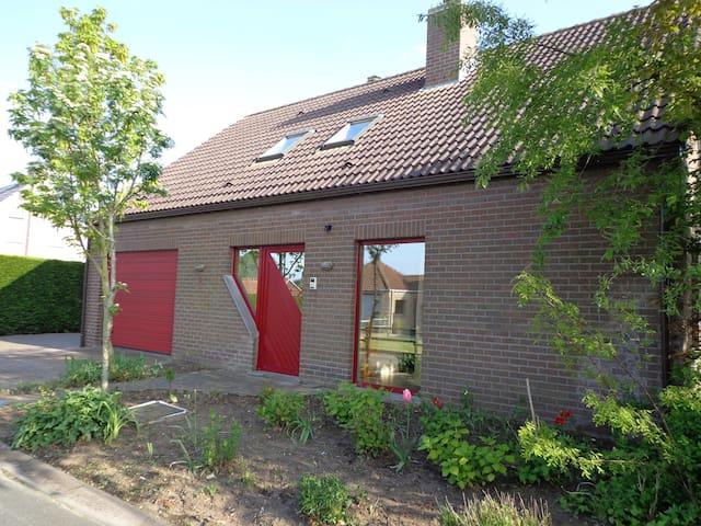 Landelijke woning bij Brugge / kust - Jabbeke - Haus