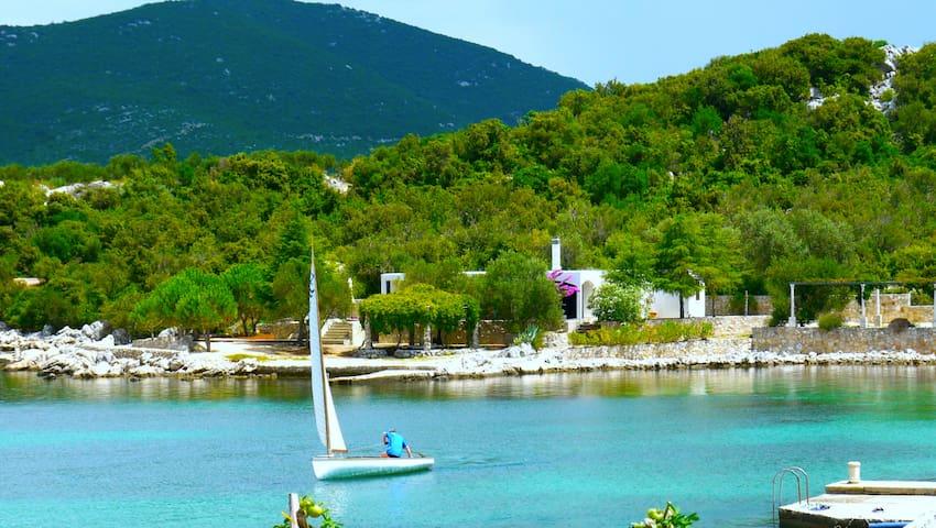 Airbnb Croatia—Private Beach Villa - Ston - 別荘