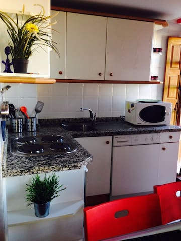 Apartamt en Plz Mayor, con desayuno - León - Lägenhet