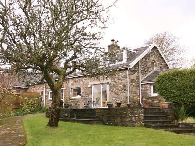 Stables Cottage-luxury, stone built - Tarbert, Argyll - Ev