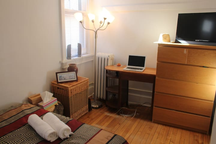 Comfy room, Trendy east side, you will love it! - Milwaukee - Departamento