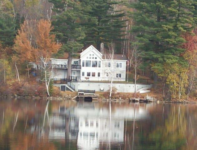 Stunning Lake/Ski Home - Whitefield - Casa