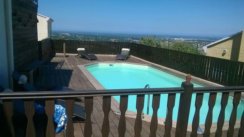 T2 tout confort avec vue magnifique - Lucciana - Appartement