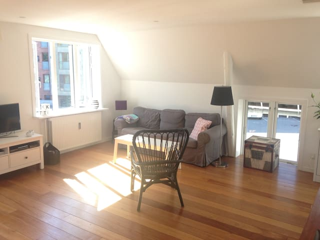 Cozy, Lovely and Central Apartment - Hillerød - Appartement