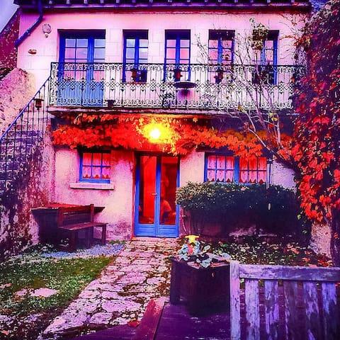 Romantic, Historic Garden Cottage - Pontlevoy  - Ev