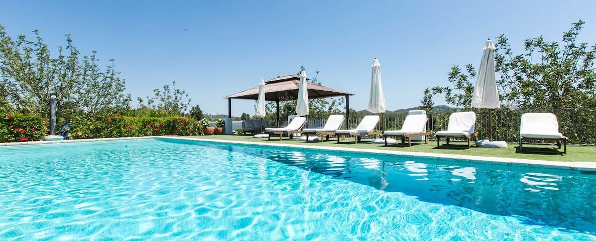 LUXURY VILLA IN PUIG D'EN VALLS (3KM FROM IBIZA) - Ibiza - Villa