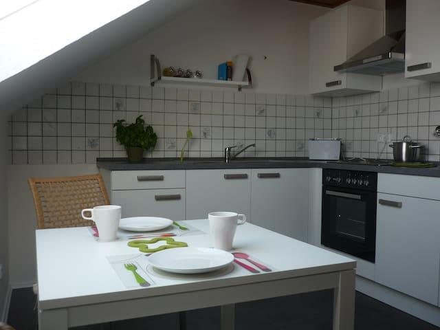 Moderne Wohnung- zentral & naturnah - Großenlüder - Departamento