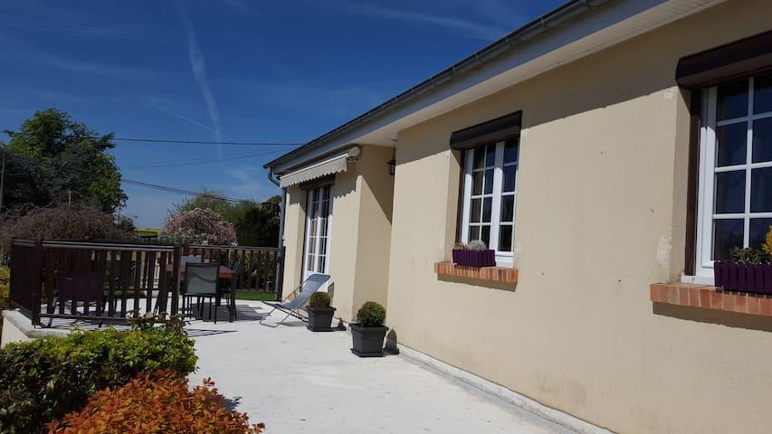 Maison confortable avec jardin - Hectomare - Huis