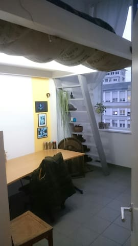 Zimmer in einer Loft-Wohnung. - Wetzlar - Lägenhet