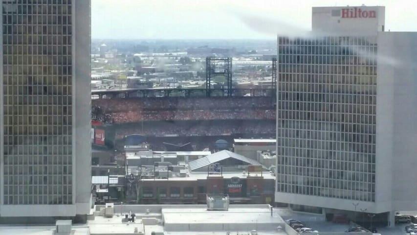 Entire downtown Apt w/stadium views - St. Louis - Apartament