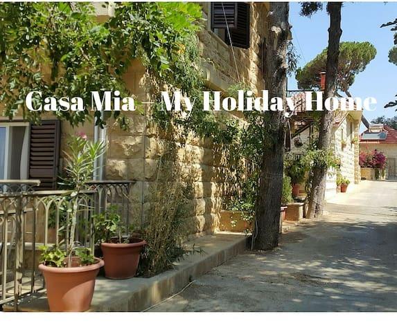 Luxury home in Lebanese Mountain town of Shemlan - Aley, Shemlan - Huis