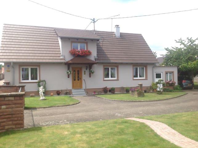 Gîte Ernestine - Soufflenheim - Casa
