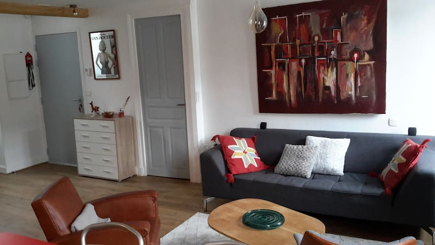 Nice and confortable room in the center town - Mauléon-Licharre - Departamento