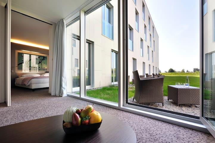 Studio 3009 avec petit jardin proche de EPFL & lac - Saint-Sulpice - Bed & Breakfast