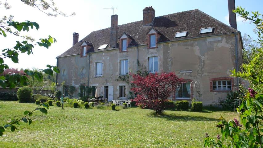 Maison avec jardin clos proche de la Loire -  La Bussière - Rumah
