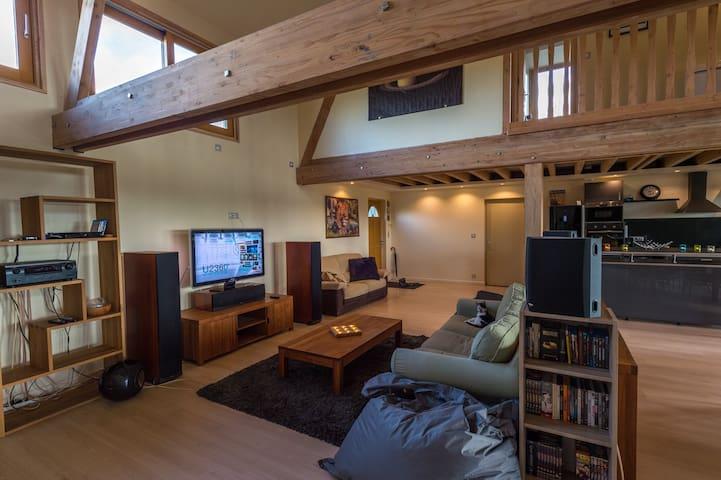 location chambre dans superbe maison - Les Barils - 獨棟