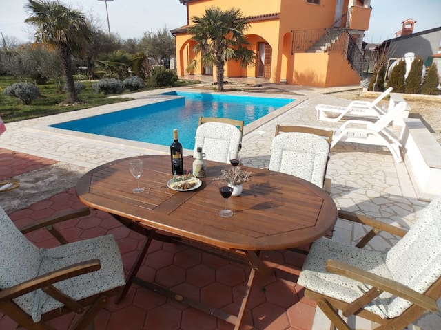 Apartment with swimming pool OLIVA - Dračevac - Appartement
