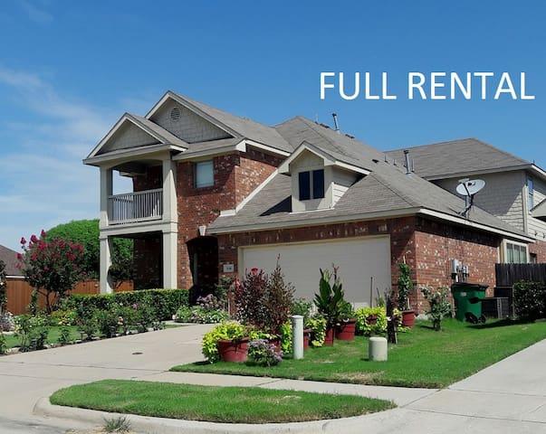 Gorgeous Spacious Home - Full rental (8 ppl) - McKinney - Casa