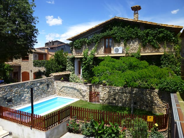 RURAL HOUSE IN PLA DE L'ESTANY. - Crespià - Hus