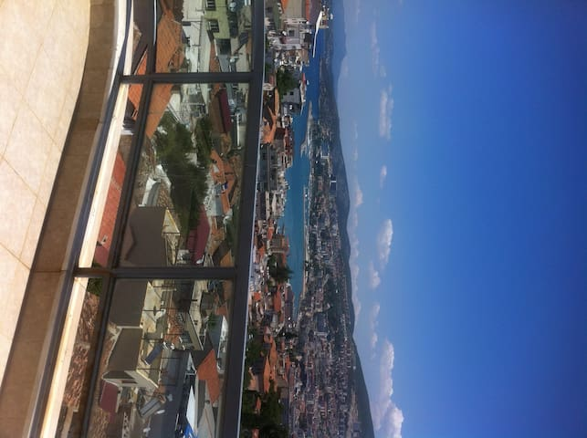 4 bedroom duplex with amazing view - Aydin - Apartment