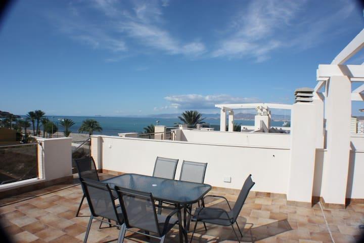 Beach front apartment amazing views - Cartagena - Departamento