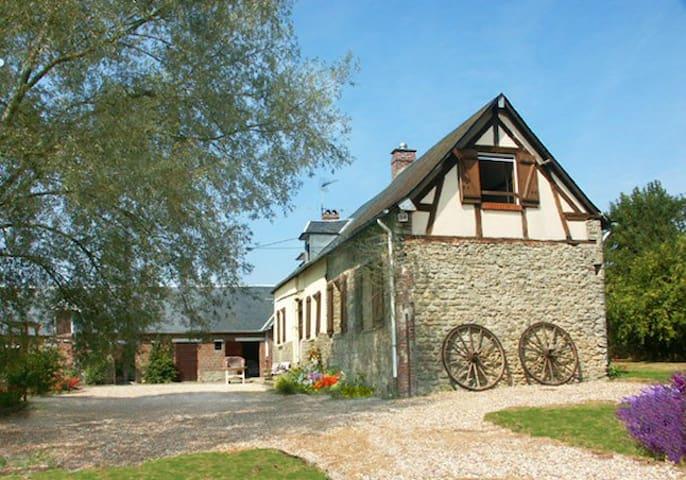 LE GAILLON - peaceful famhouse - Forges-les-Eaux - Casa