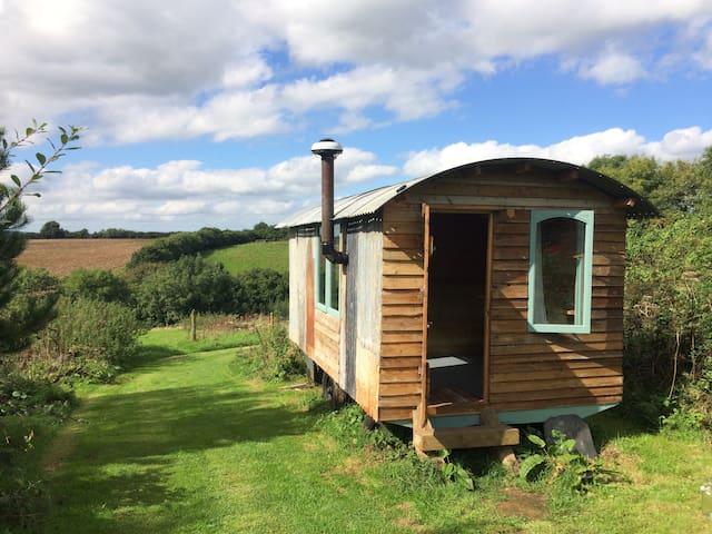 Eco hut in beautiful rural Cornwall - Saint Keyne - Choza