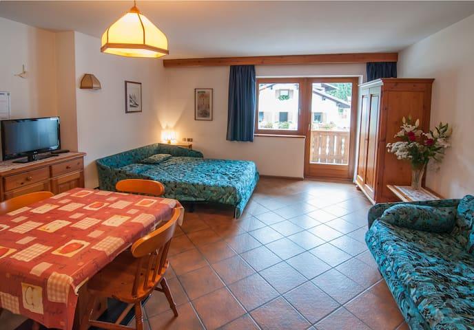 Monolocale Residence Focobon - Caviola - Lägenhet