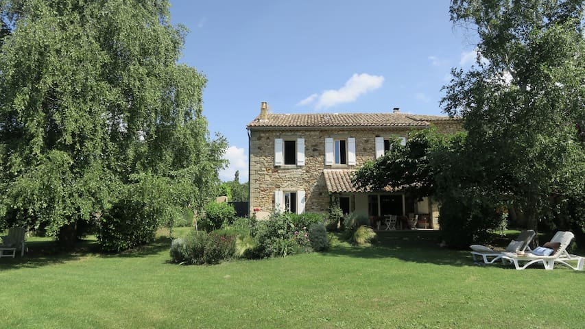 Authentic & Charming Home near UZES - La Bruguière