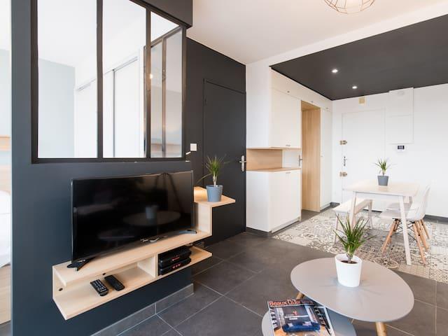 Appartement T2 de 35m² Hyper centre Bourgoin - Bourgoin-Jallieu - Appartement