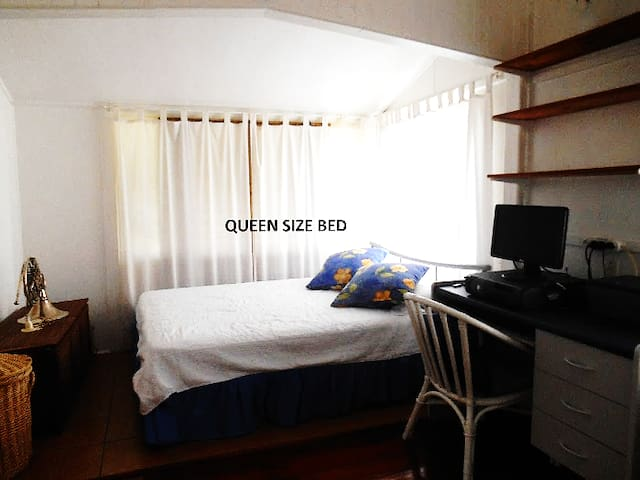 Large sunny room in a cute cottage - Laidley - Rumah