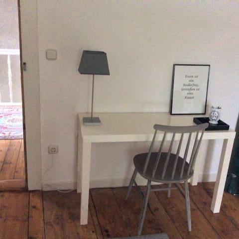 1,5 Zimmer in alter Dorfschule - Bergen
