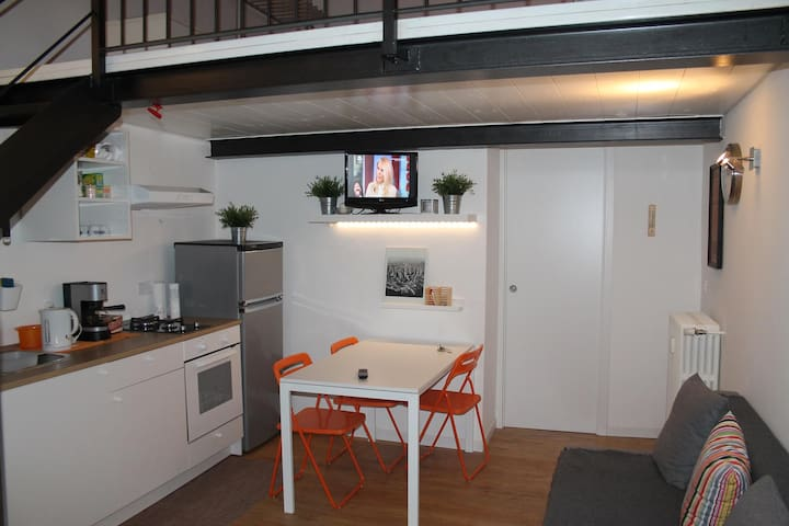 Little Loft near porta Susa station and subway - Turín - Loft