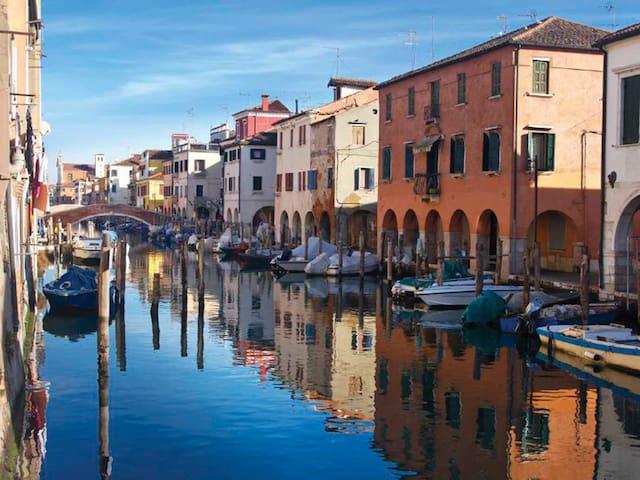 Appartamento sul canal Vena nel cuore di Chioggia - Chioggia - Casa