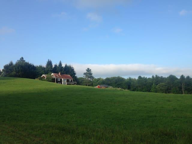Rustic Retreat on 90+ Acre Private Nature Preserve - Putney - Apartamento
