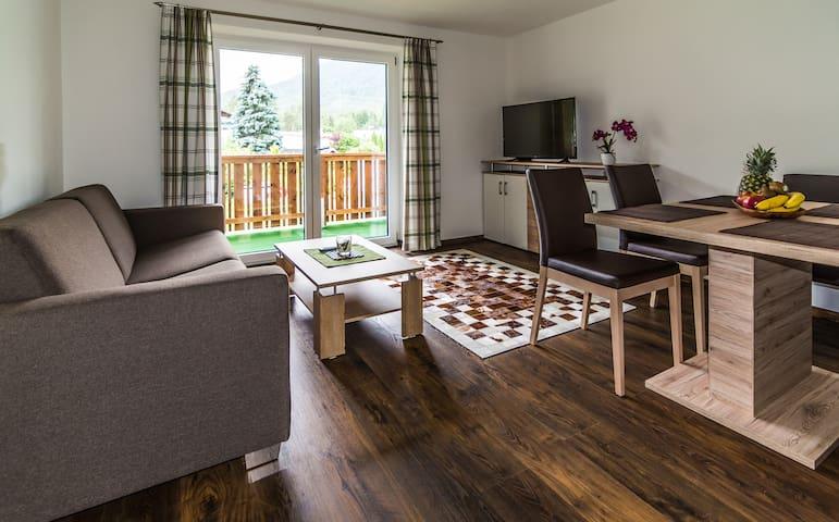 Apartments zum Wohlfühlen, Hallenbad, Sauna... - Obsteig - Appartement